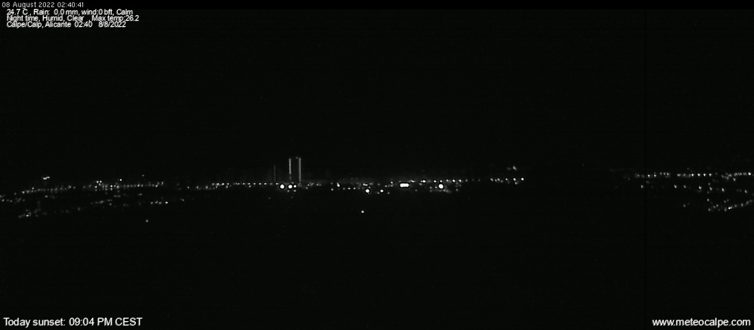 webcam image 2 min ago